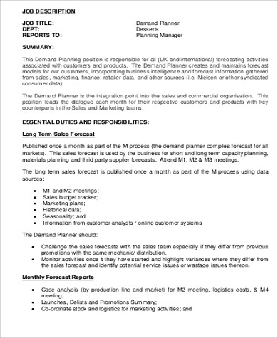 Retail Associate Job Description Sample - 9+ Examples in Word, PDF