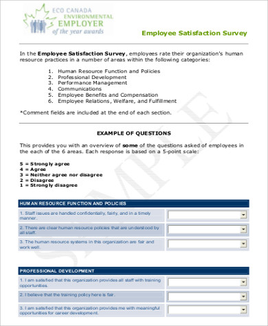 employee feedback survey form