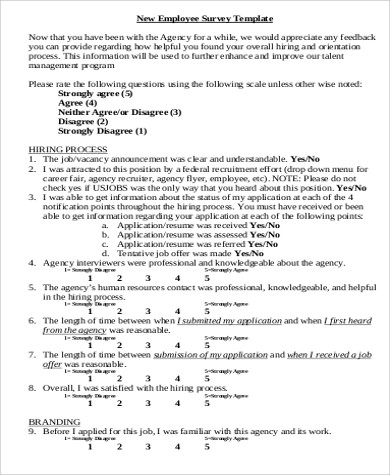 Sample Employee Feedback Form   Examples In Word Pdf