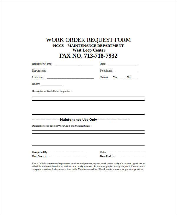 work order request form1