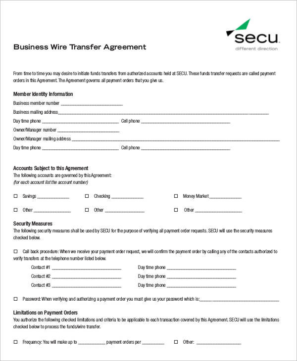 sample business transfer agreement