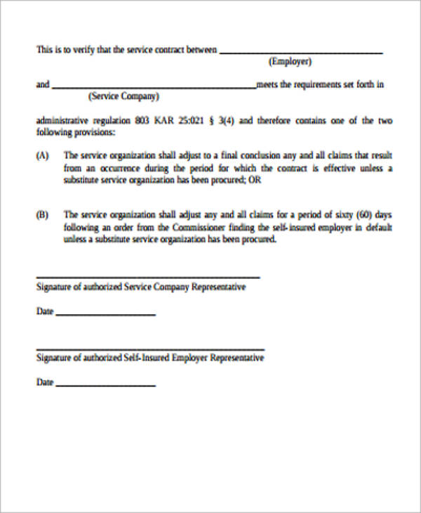 Simple Service Contract Samples Sample Templates - Simple business agreement template