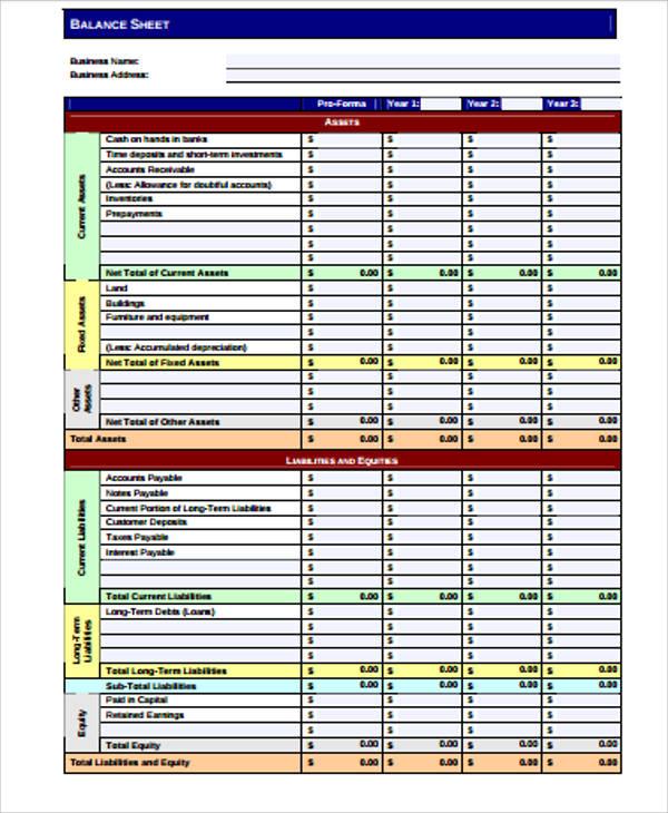 blank balance sheet pdf