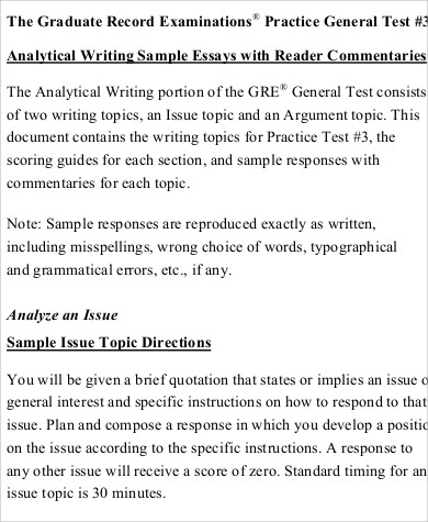 Analysis Argument Essay Pdf1