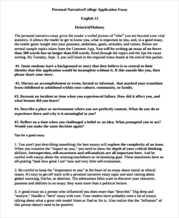 narrative essay of experience Narrative essay as a mode of expository writing, the narrative approach, more than any other, offers writers a chance to think and write about themselves we all have experiences lodged in our memories, which are worthy of sharing with readers yet sometimes they are so fused with other memories that a lot of the time.