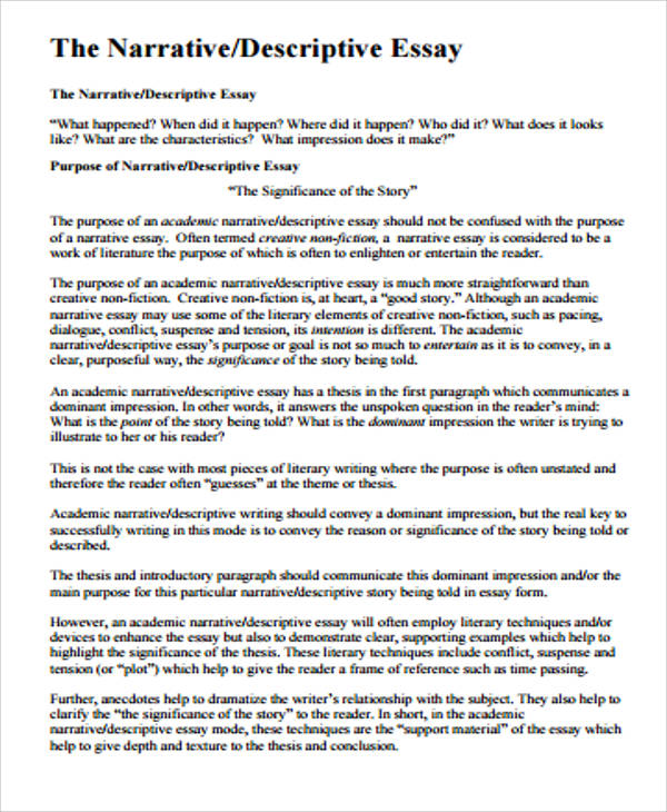 samples of narrative essay The sample responses included in this document represent a very small sample of successful approaches to the narrative/ essay writing assignment cautions 1 the commentaries are brief the commentaries were written for groups of markers to discuss and apply during the marking session although.