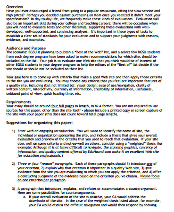 critical evaluation essay okl mindsprout co critical evaluation essay