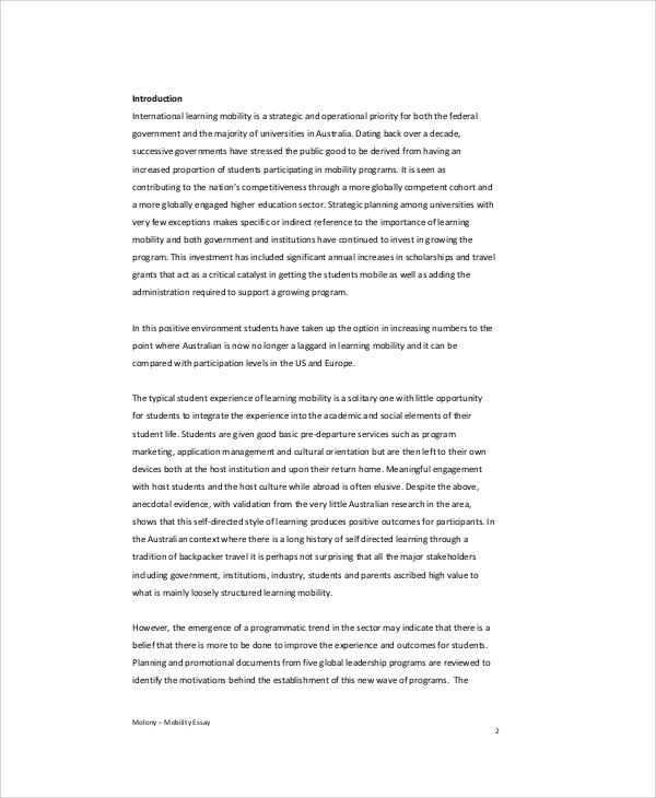 leadership program essay