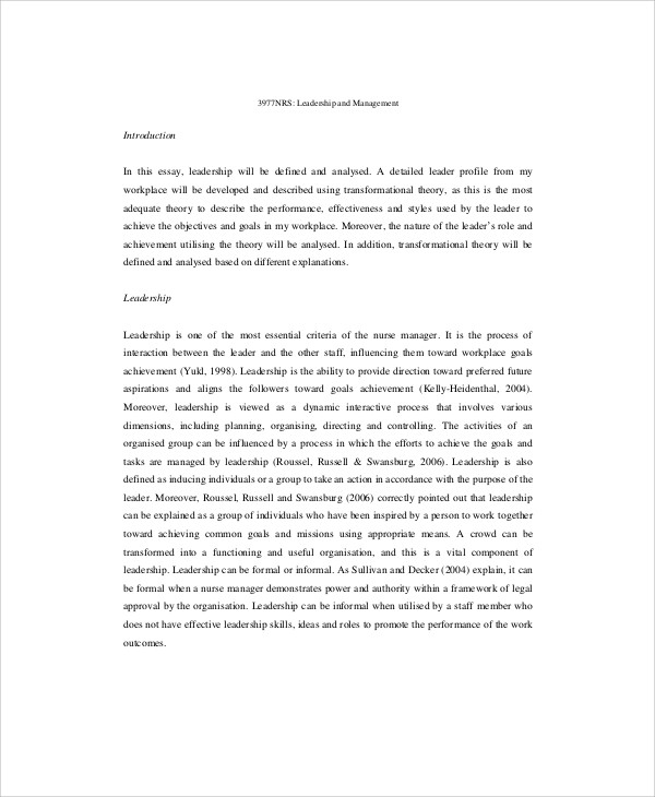 nursing leadership essay okl mindsprout co nursing leadership essay