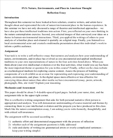 essay how to write a reflective essay with reflective essay examples