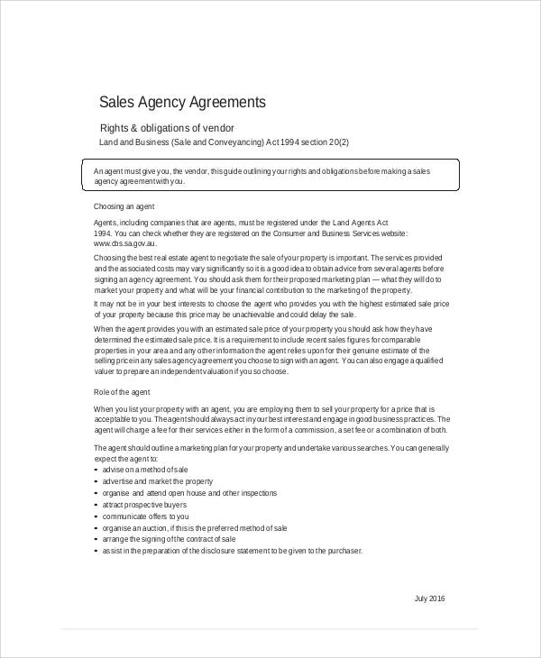 Sample Business Sales Agreement  Examples In Word Pdf