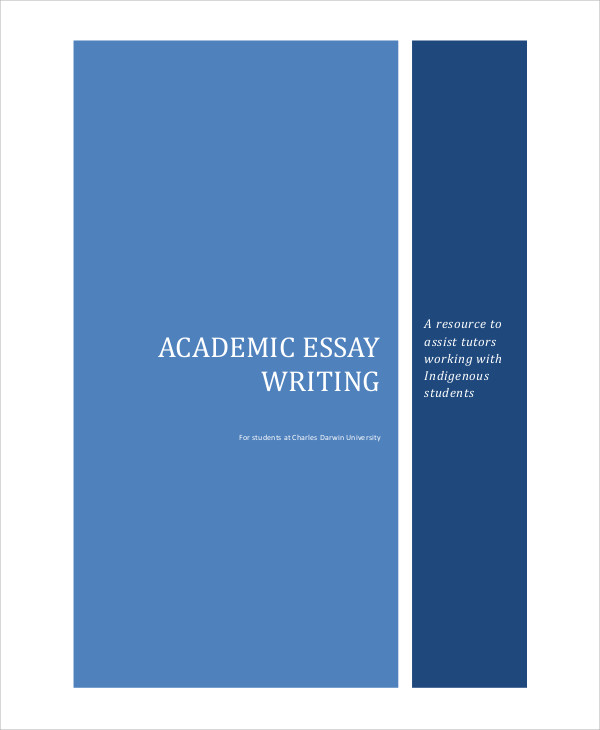 Academic writing sample essay