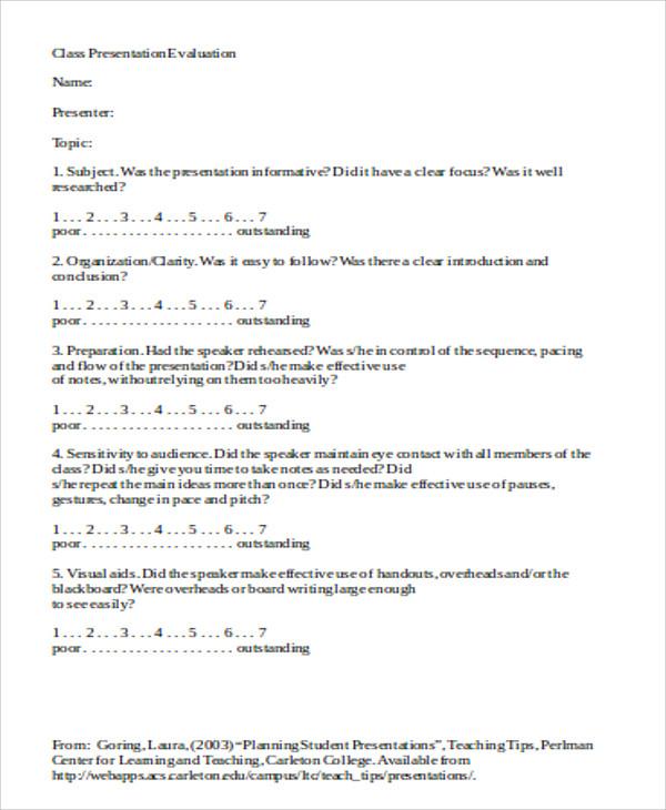 lecture evaluation form - solarfm.tk