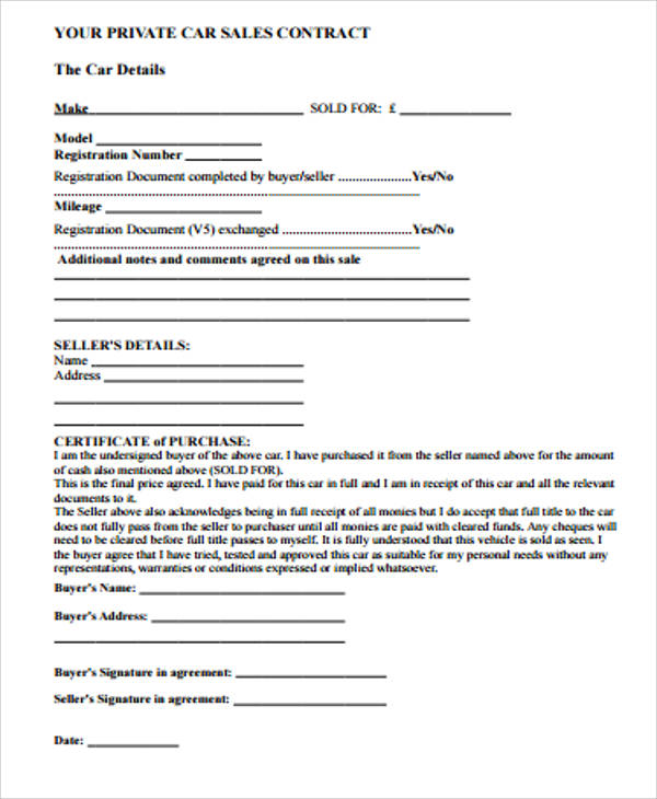 Simple contractor agreement simple contract agreement for Sales consultant contract template