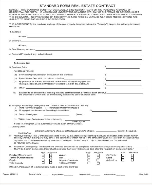 9+ Sample Sales Agreement Contracts | Sample Templates