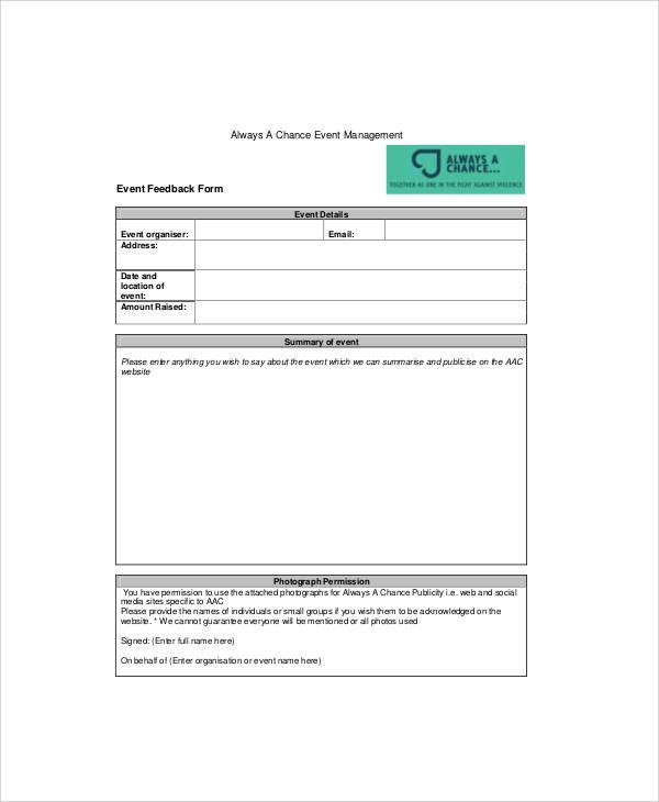 event management feedback form1
