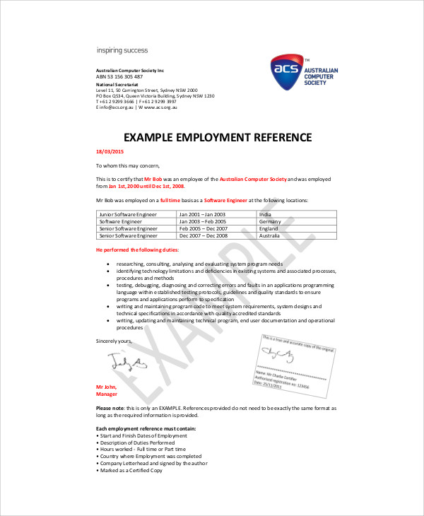 Recommendation letter for employee doc template of recommendation letter for employee the expocarfo Gallery