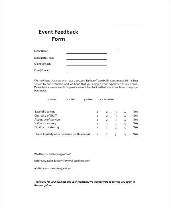 event feedback form pdf1