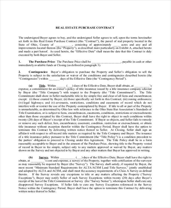 Land contract form ohio carnavalsmusic land contract form ohio maxwellsz
