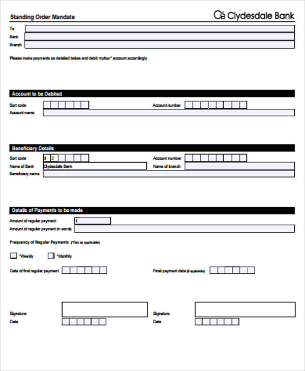 9+ Sample Blank Order Forms | Sample Templates
