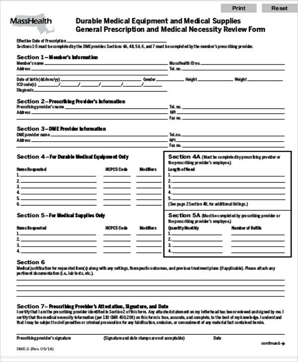 9 sample medical order forms sample templates for Equipment order form template