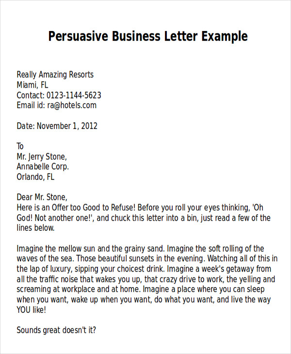 Sample persuasive business letter 7 examples in word pdf persuasive business letter example spiritdancerdesigns Images