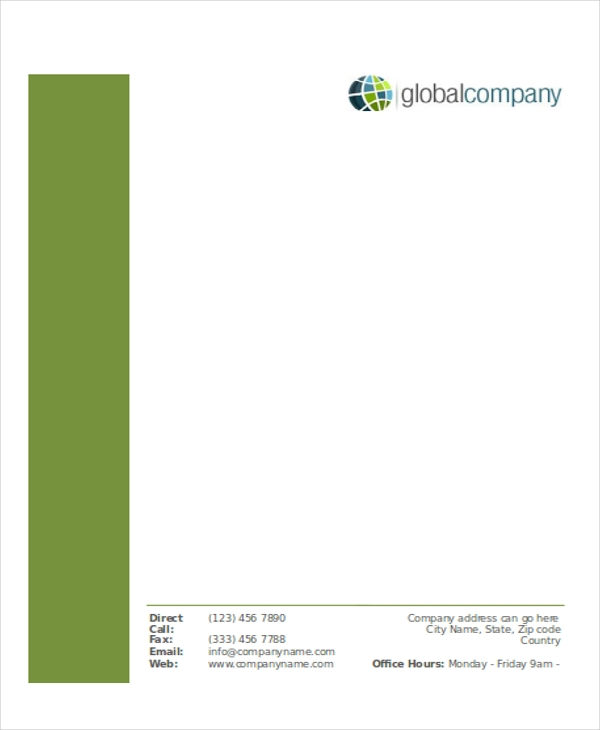 example of business letterheads business letterhead templates