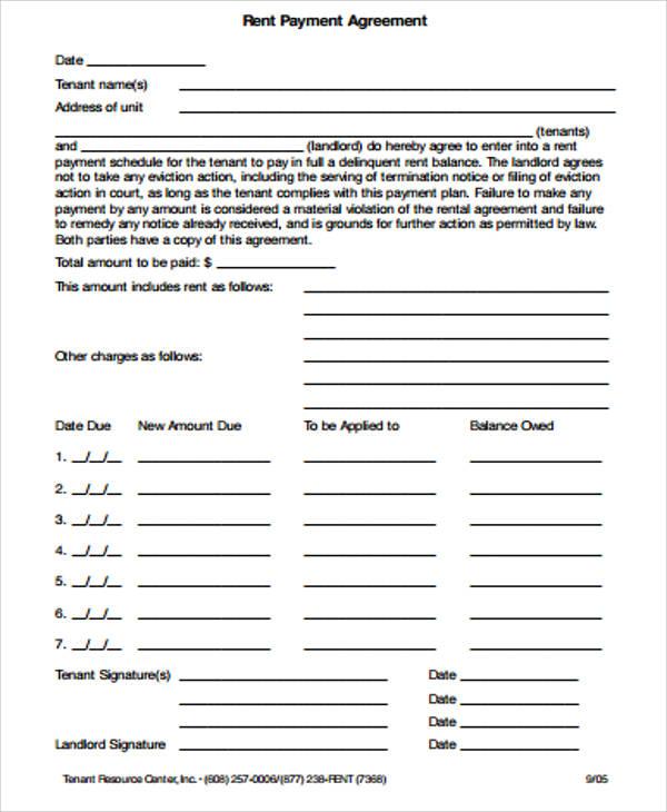 12 sample payment agreements sample templates. Black Bedroom Furniture Sets. Home Design Ideas
