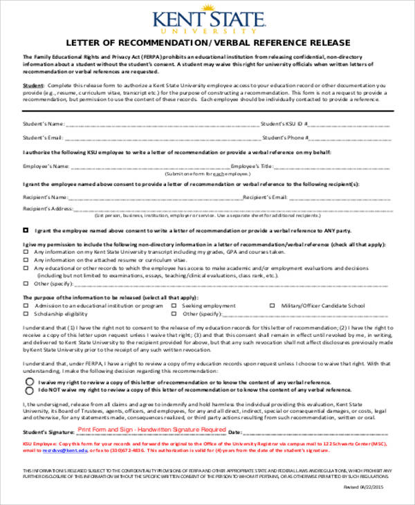 free 4  sample military letter of recommendation in pdf
