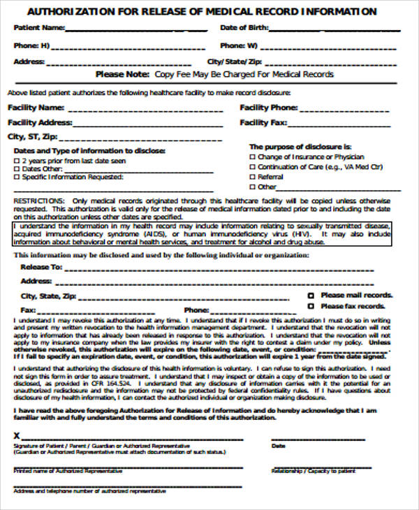 Shigenoi Kuri Sample Of Medical Record Form