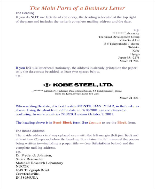 Examples of letterheads for business letters militaryalicious examples of letterheads for business letters premium business memo format sample with guideline vatansun examples of letterheads spiritdancerdesigns Gallery