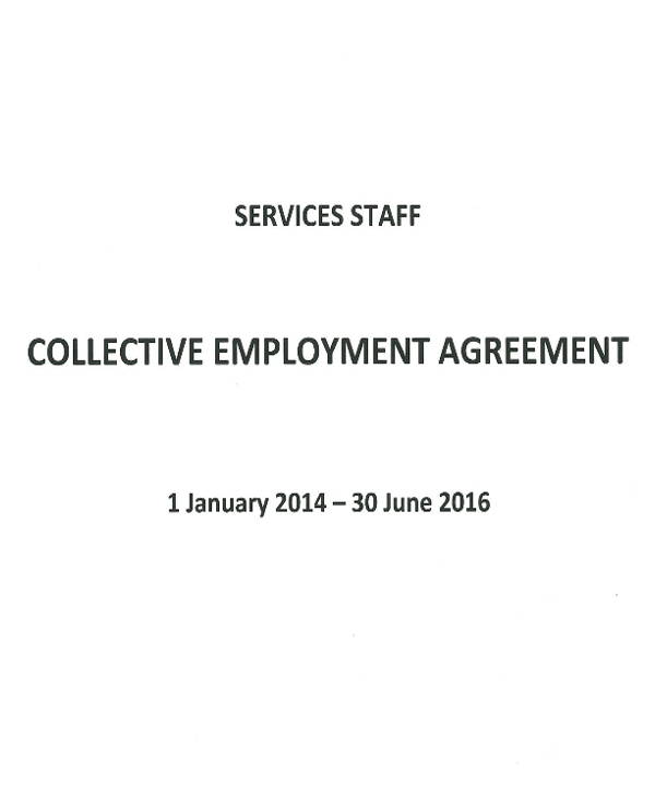 collective employment agreement pdf