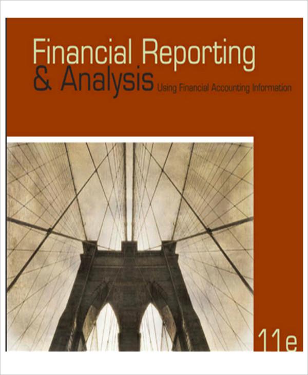 financial reporting analysis format