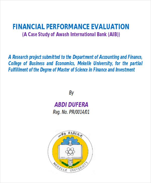 financial performance analysis