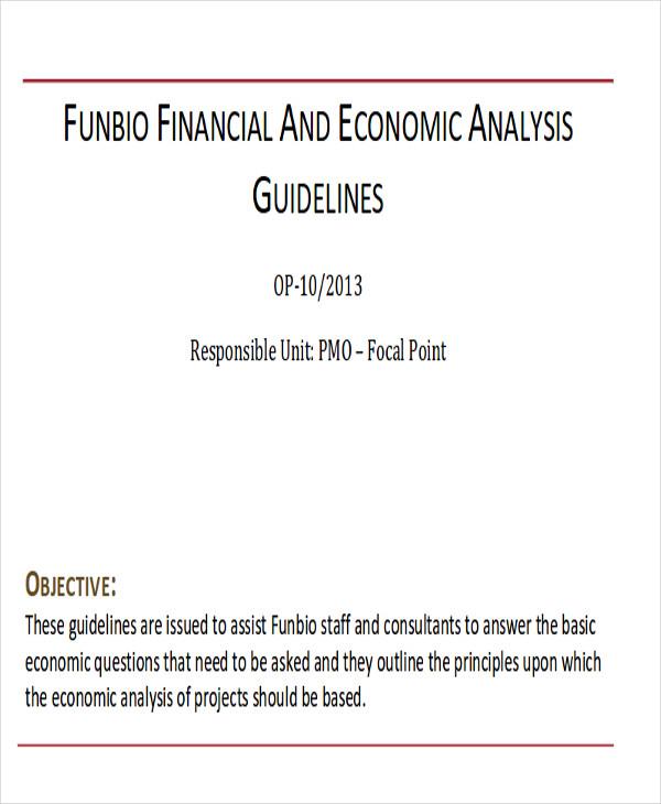 financial economic analysis