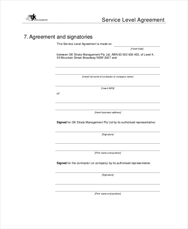 Sample Contract Management Agreement   Examples In Word Pdf