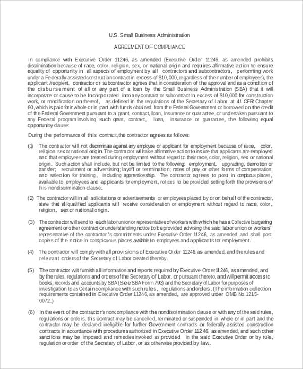 9 business lease agreement sample free sample example format download