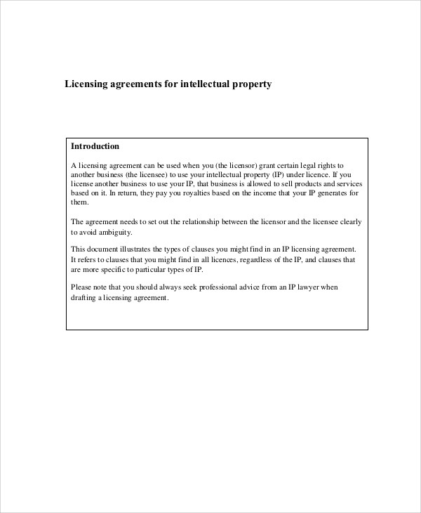 Sample Property Contract Agreement - 8+ Examples In Word, Pdf