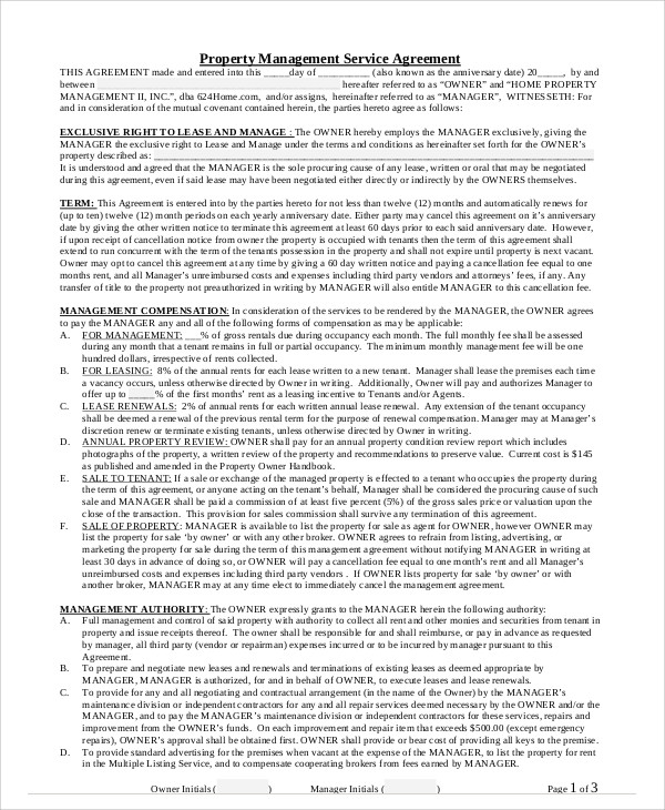 Management Contract - Anuvrat.Info