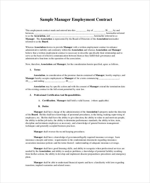 Sample Sales Contract Agreement   Examples In Word Pdf