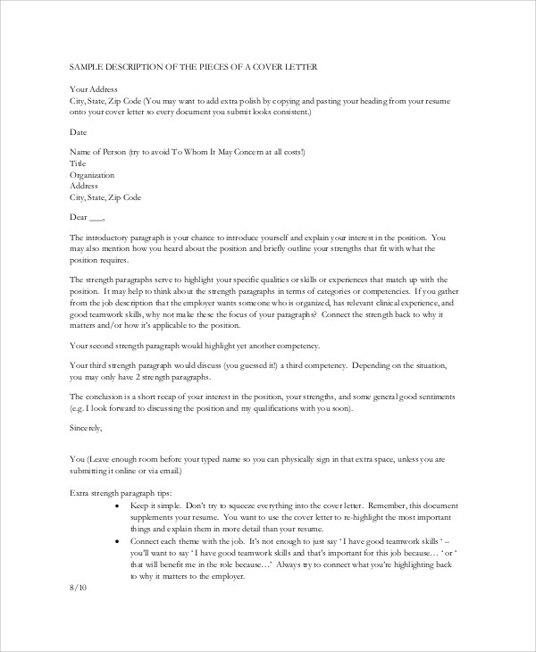 Rn Cover Letter Sample Cover Letter For Nurses Nursing Cover