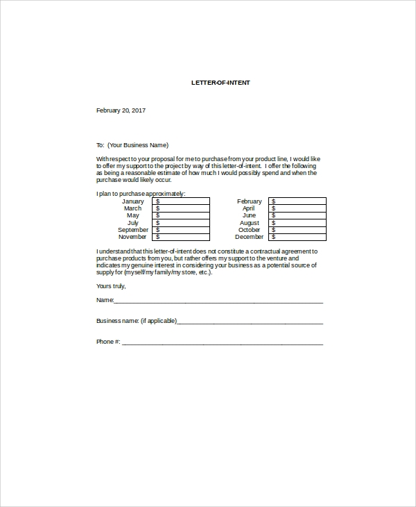 free 9  sample product proposal letter templates in ms