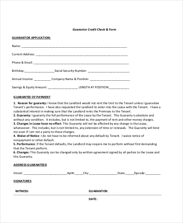 standard credit application template - 7 sample credit check release forms sample templates