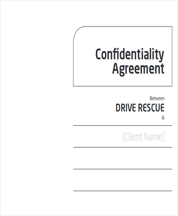 Client Confidentiality Agreement - Best Client 2017