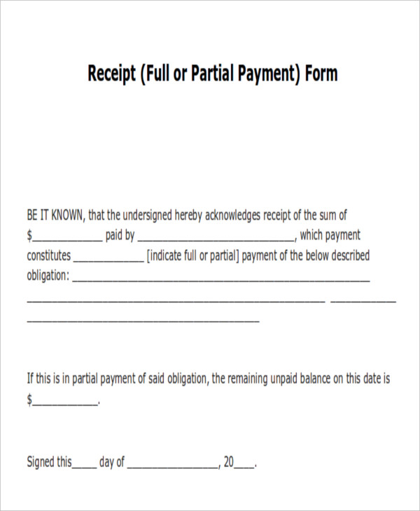 acknowledgement letter for payment made 14 payment receipt acknowledgment pdf word excel 13444