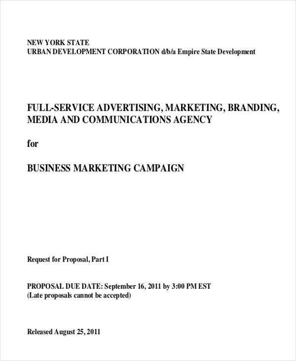 free 12  sample advertising proposal letter templates in