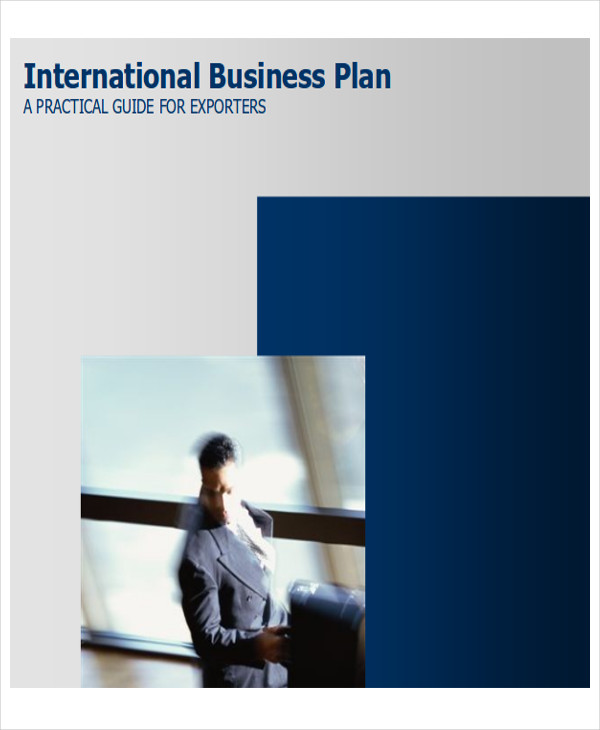 international business plans example