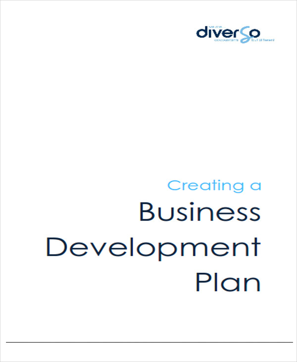 business development plans sample