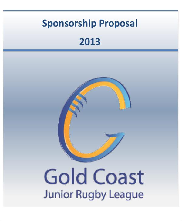 sponsorship proposal letter format