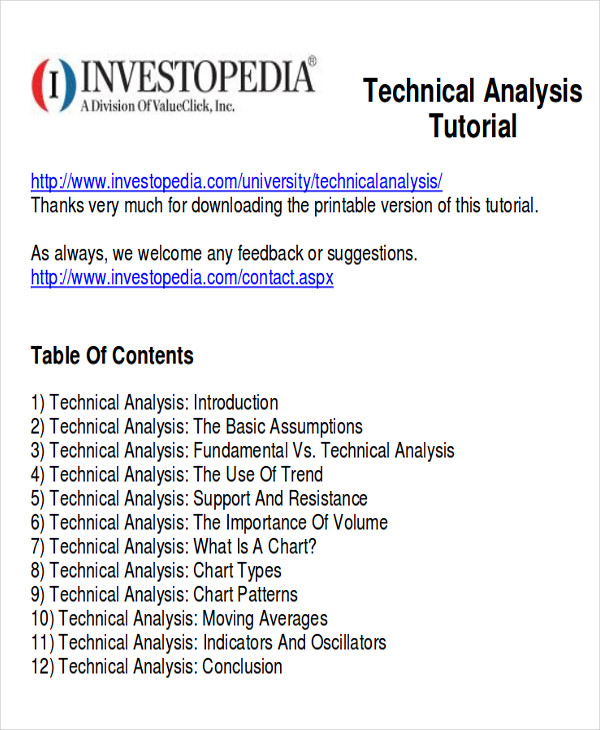 8+Trend Analysis Sample - Examples In Word, Pdf